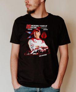 Kimi Raikkonen 20 incredible years of racing shirt
