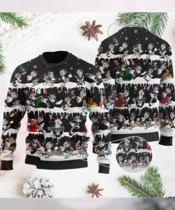 Las Vegas Raiders Mickey NFL American Football Ugly Christmas Sweater Sweatshirt Party