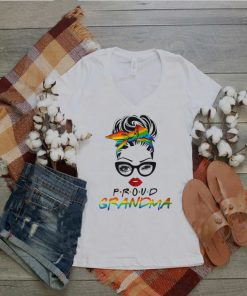 Lgbt The Girl Proud Grandma shirt