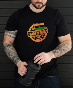 Made in India Flag T Shirt
