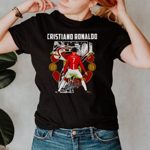 Man United Cristiano Ronaldo signature shirt