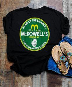 McDowells shirt