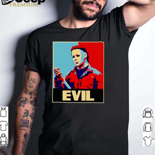 Michael Myers horror halloween evil shirt