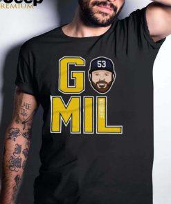 Milwaukee Brewers Brandon Woodruff GO Mil shirt