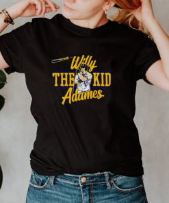 Milwaukee Brewers Willy Adames the kid shirt