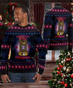 Minnesota Twins World Series Champions MLB Cup Ugly Christmas Sweater Sweatshirt Party