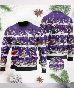 Minnesota Vikings Mickey NFL American Football Ugly Christmas Sweater Sweatshirt Party
