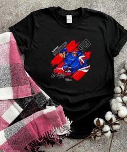 New York Wayne Gretzky stripes signature shirt