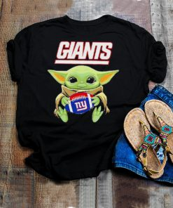 New york american football team face cover baby yoda shirt