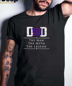 New york american football team the man the myth the legend shirt