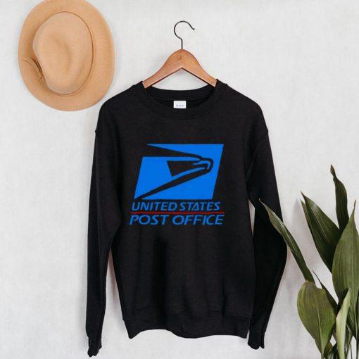 Nice usps logo united states post office shirt