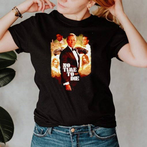 No Time to 007 die shirt