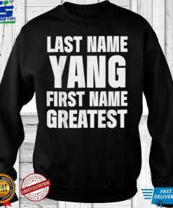 Official Family Surname Yang Funny Reunion Last Name Tag T Shirt