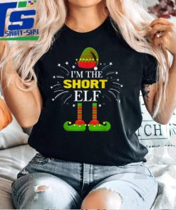 Official I'm The Short Elf Family Matching Group Christmas Costume T Shirt