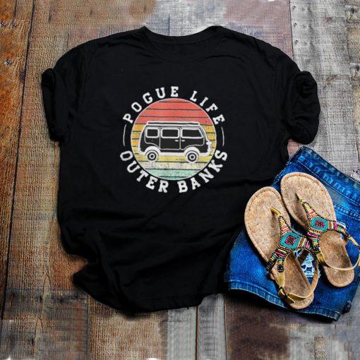 Outer banks pogue life outer banks surf van obx beach shirt
