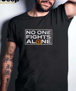 Piledriver Pediatric Pediatric Cancer No One Fights Alone Shirt