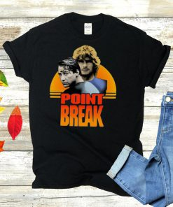 Point Break Movie Poster Vintage Retro T shirt
