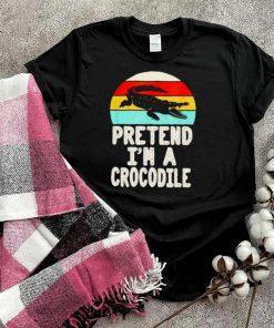 Pretend Im a crocodile vintage shirt