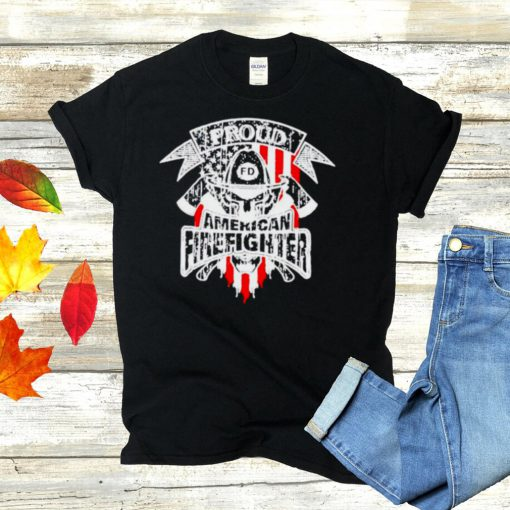 Proud American fighter shirt