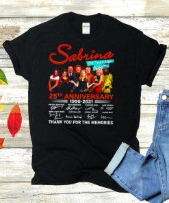 Sabrina The Teenage Witch 25th anniversary 1996 2021 signatures shirt