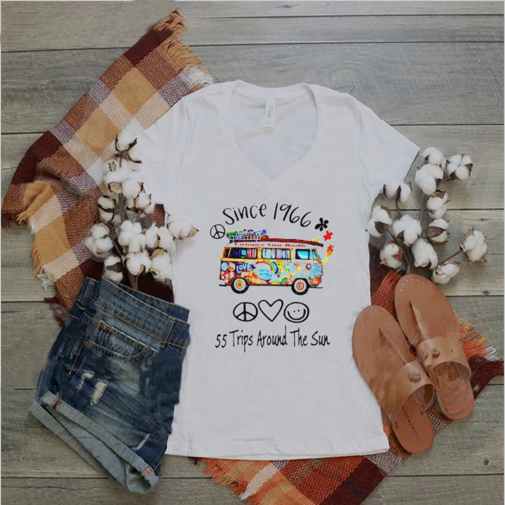 Since 1966 55 trips around the sun shirt