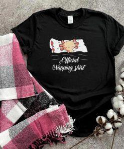 Sleeping Axolotl Pyjamas Axolotl Official Napping shirt