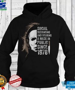 Social Distance And Wearing Mask Since 1978 Halloween Movie T Shirt
