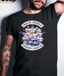 Sons of America Cowboys chapter shirt