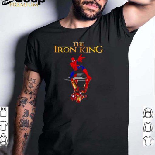 Spider Man water mirror Iron Man the iron king shirt