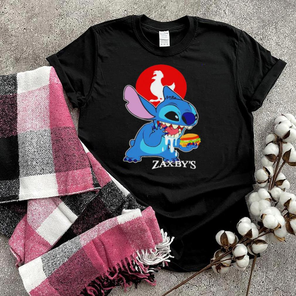 Stitch eating Zaxbys shirt
