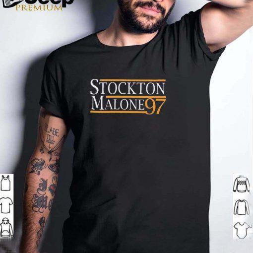 Stockton Malone 97 president shirt