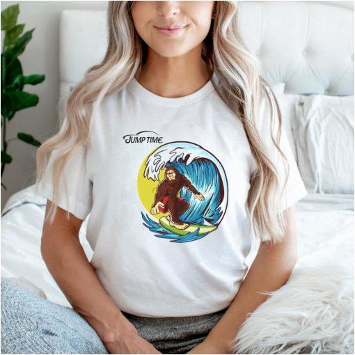 Surfing Bigfoot shirt