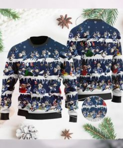 Tennessee Titans Mickey NFL American Football Ugly Christmas Sweater Sweatshirt Party