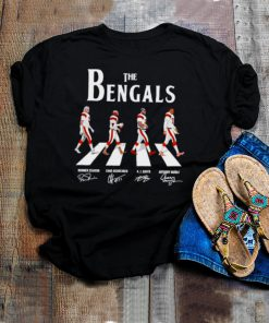 The Bengals Abbey Road signatures shirt