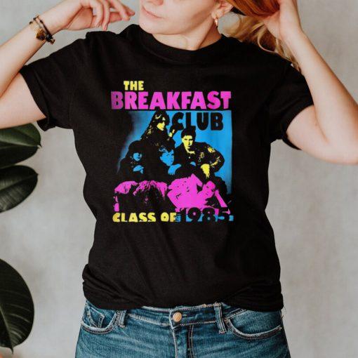 The Breakfast Club Class Of 1985 Stencil T shirt
