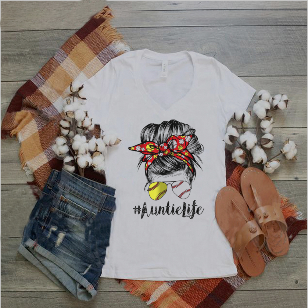 The Girl AuntieLife Baseball shirt