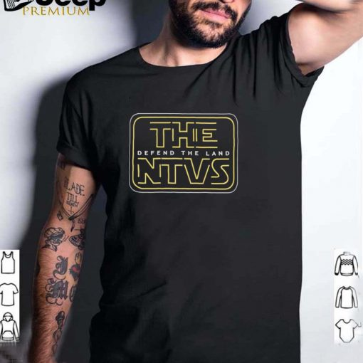 The NTVS defend the land shirt