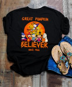 The Peanuts Snoopy And Friends Great Pumpkin Believer Halloween Shirt