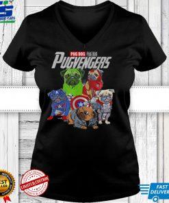 The Pugvengers Funny Superheroes Pug Dog Gift T Shirt