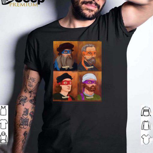 The Renaissance Ninja Artists T shirt