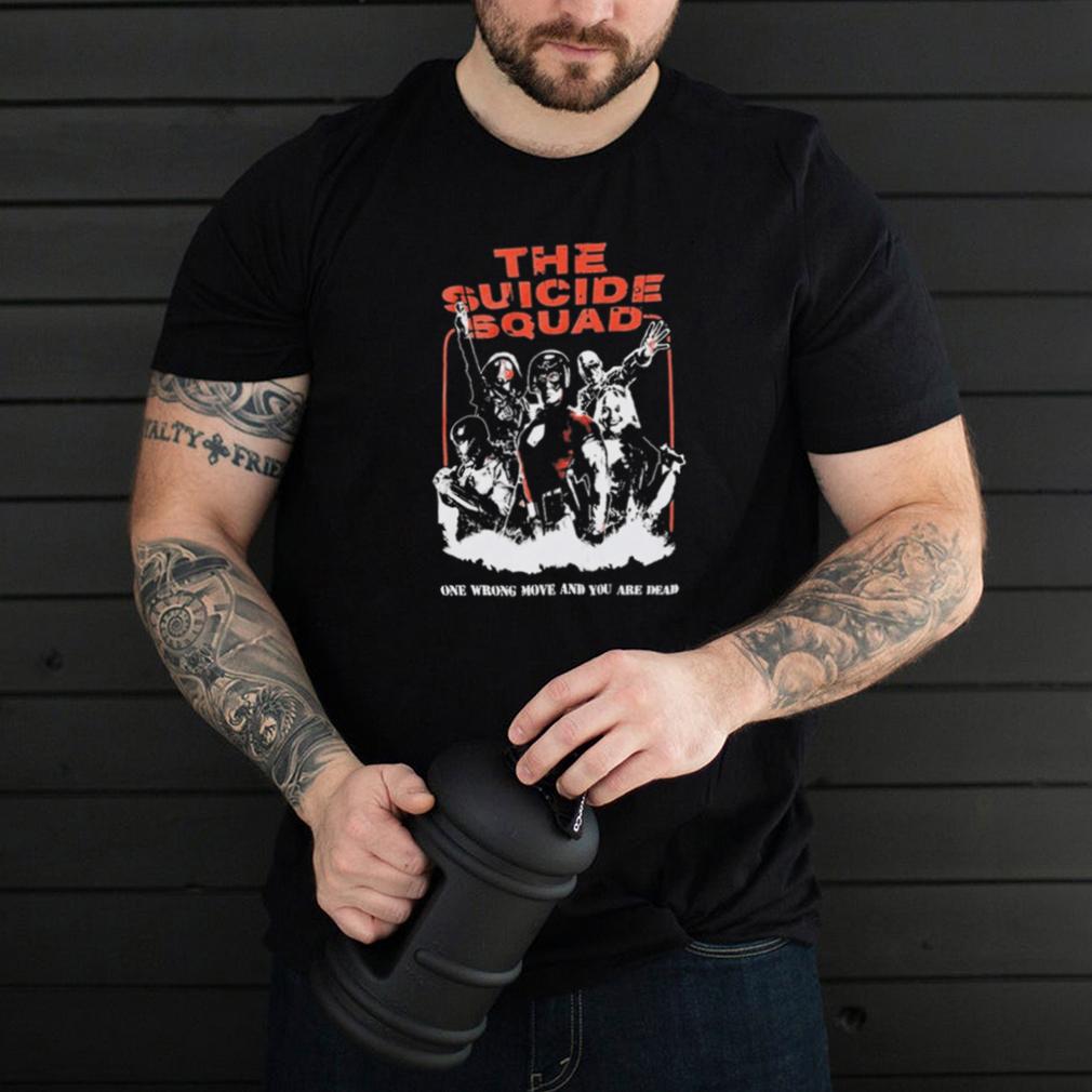 The Suicide Squad Title T Shirt DC Comics The Suicide Squad 2021 Shirt