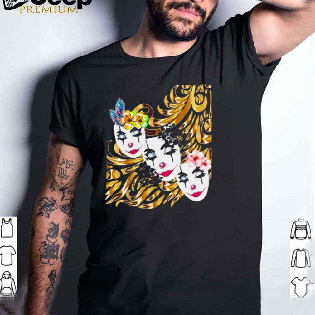 Theatrical mask Fancy Faces T Shirt