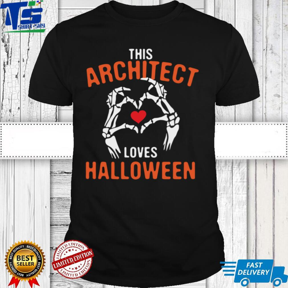 This Architect Loves Halloween Architecture Scary Long Sleeve T Shirt