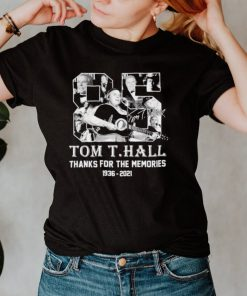 Tom T Hall 1936 2021 thanks for the memories signature shirt