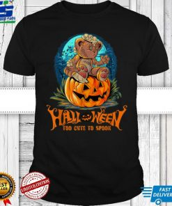 Too Cute To Spooky Funny Halloween Costume T Shirt