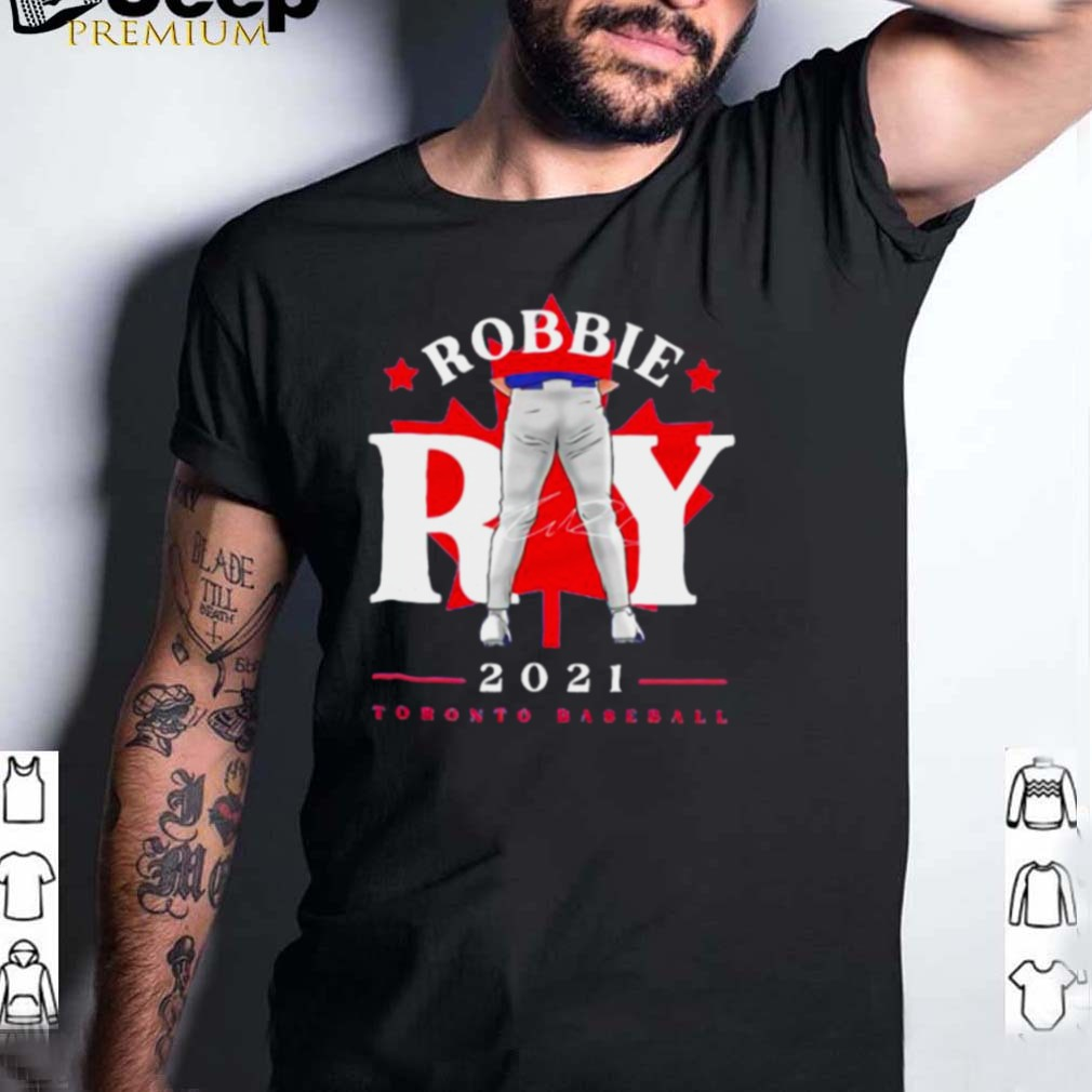 Toronto Blue Jays Robbie Ray tight pants leaf signature shirt
