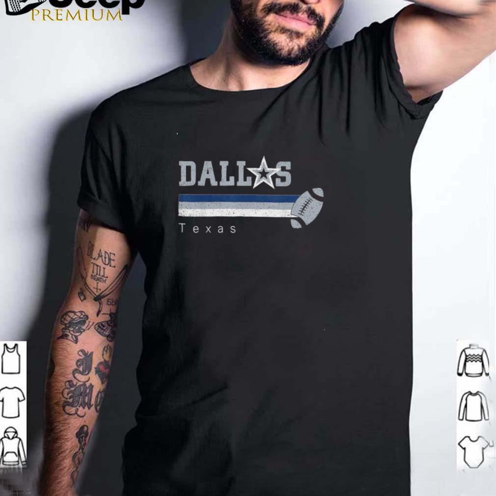 Vintage Dallas Football Retro Texas At Sunday Gameday shirt