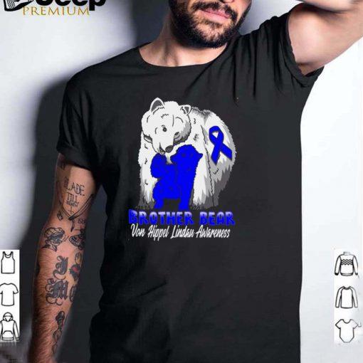 Von Hippel Lindau Awareness Brother Support Ribbon T shirt