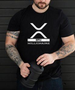 XRP Ripple Millionaire Cryptonaire Crypto Cryptocurrency shirt