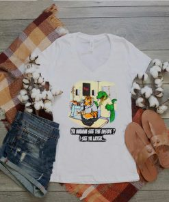 Ya Wanna See The Inside Sewing Tiger and Alligator T Shirt